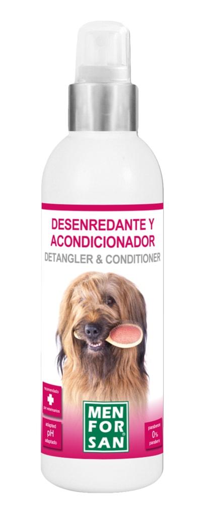 Menforsan přírodní kondicionér a rozčesávač pro psy, 125ml