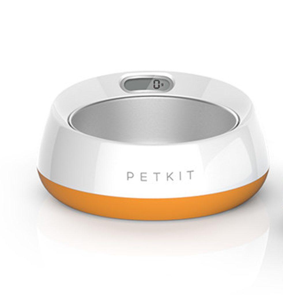 BAZAR - PetKit Fresh Metal Smart miska pro psy 1,7l - oranžová - Zánovní