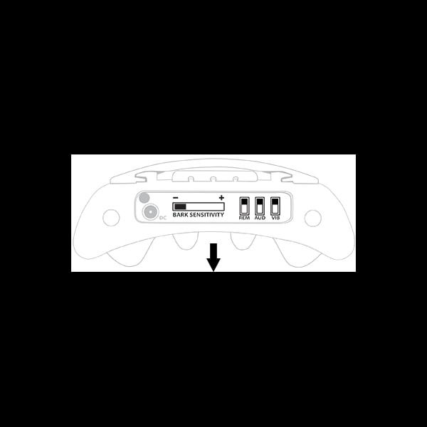 BarkWise + dálkový ovladač