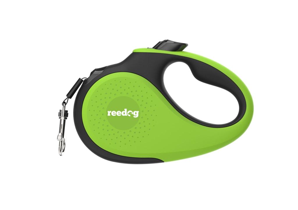 Reedog Senza Premium samonavíjecí vodítko L  50kg / 5m páska / zelené