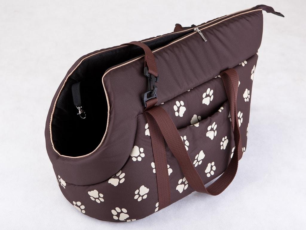 Taška pro psa Reedog Torby Brown Paw - M