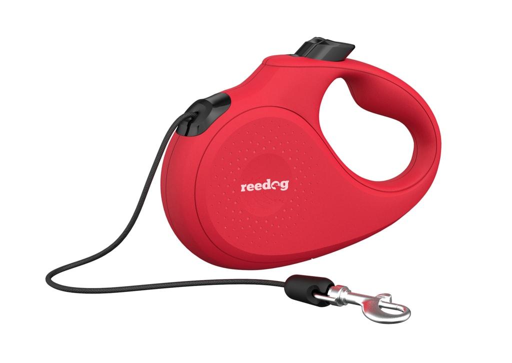 Reedog Senza Basic samonavíjecí vodítko M 20kg / 5m lanko / červené