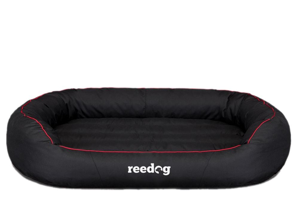 Pelíšek pro psa Reedog Round Black & Red - L
