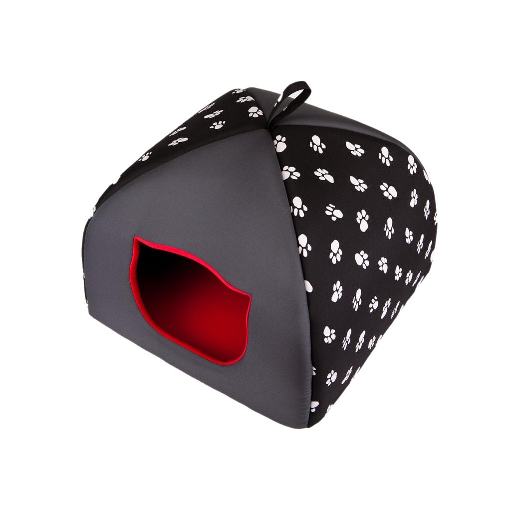 Iglu pro kočky Reedog Black - L