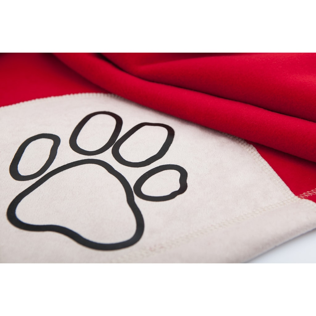 Deka pro psa Reedog Red Paw - M