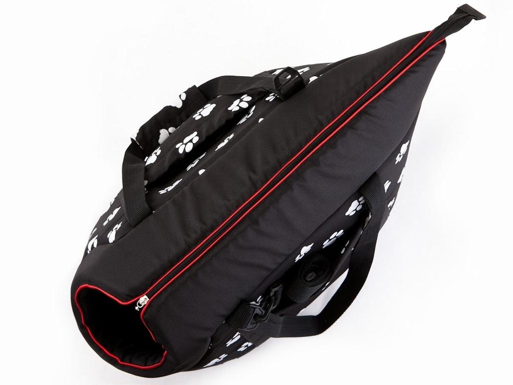 Taška pro psa Reedog Torby Black Paw - L