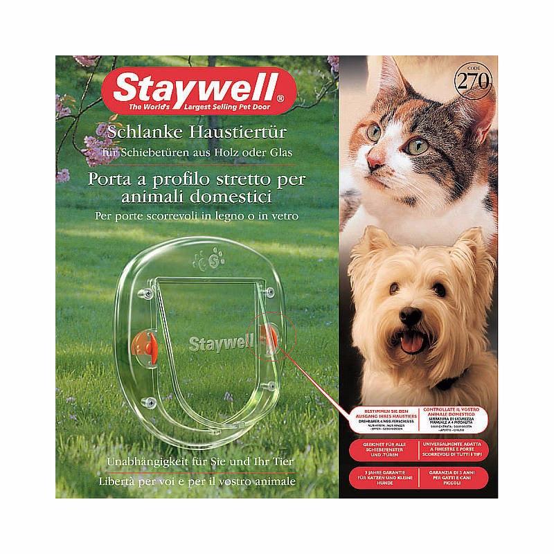 Dvířka Staywell 270 průhledné