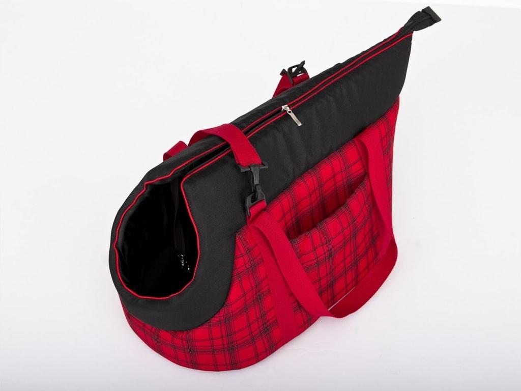 Taška pro psa Reedog Torby Red Strips - M
