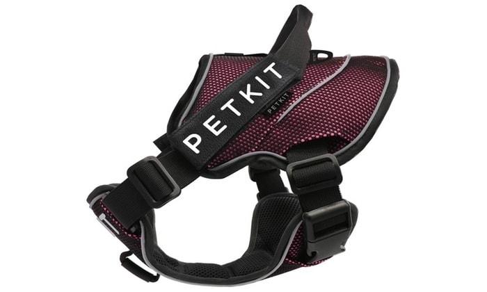 Petkit Air postroj pro psy - růžová  L