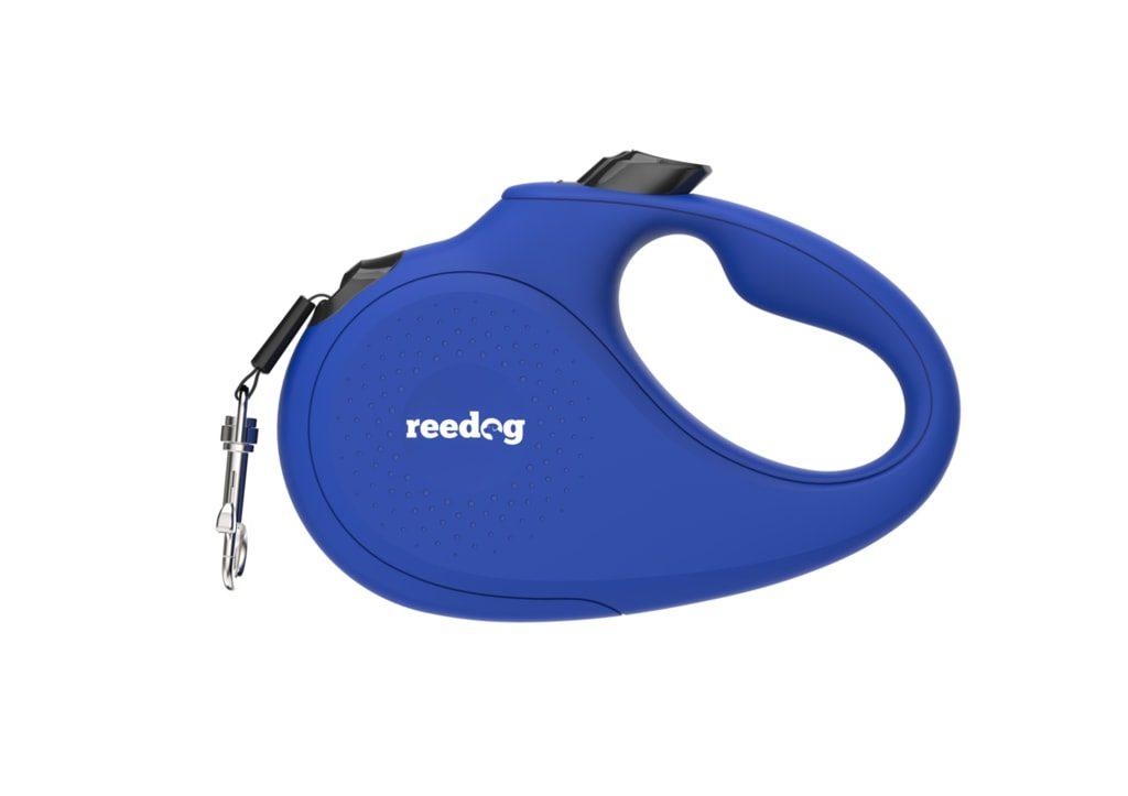 BAZAR Reedog Senza Basic samonavíjecí vodítko M 25kg / 5m páska / modré - Rozbaleno