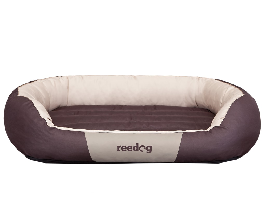 Pelíšek pro psa Reedog Round Brown & Beige - XXL