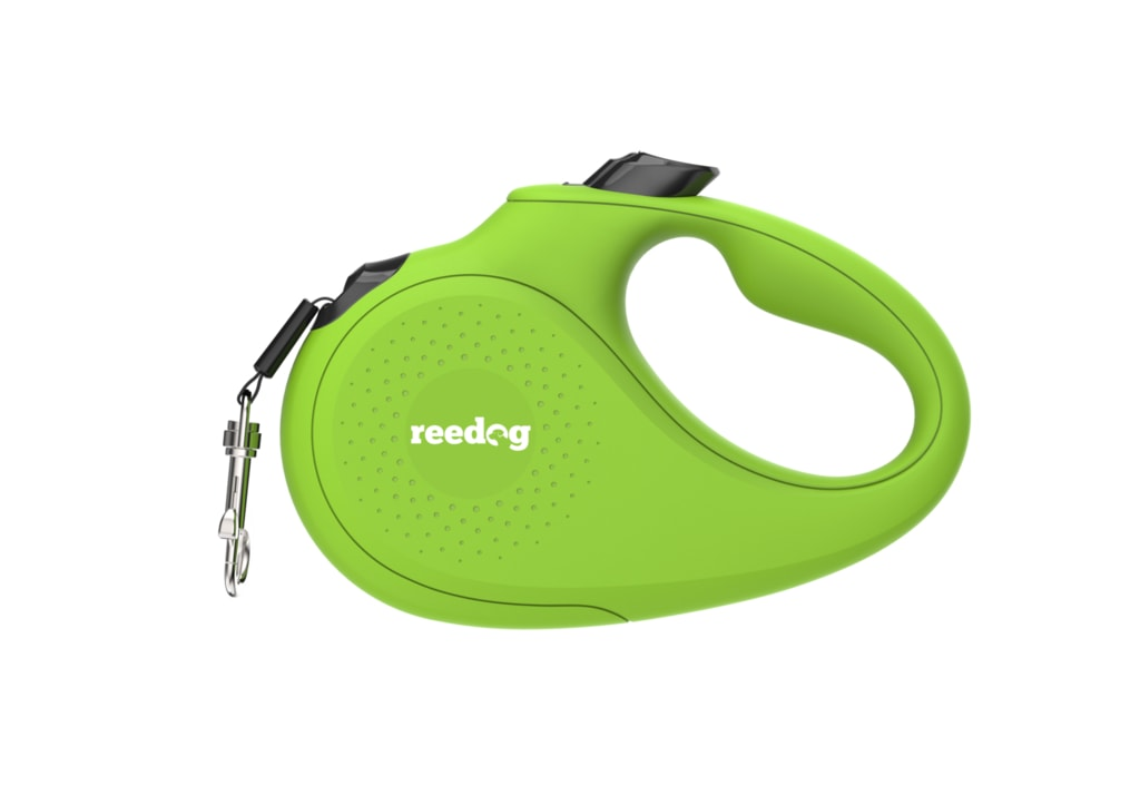 Reedog Senza Basic samonavíjecí vodítko L  50kg / 5m páska / zelené
