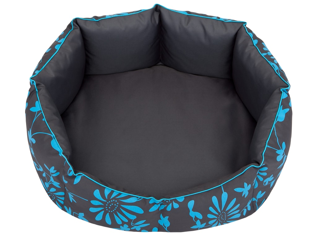 Pelíšek pro psa Reedog York Blue Flower - L