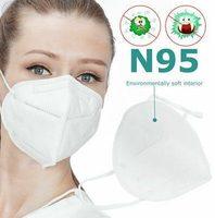 Respirátor, respirační maska KN95, N95, FFP2