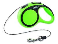 Vodítko FLEXI Comfort New lanko zelené XS 3 m/12 kg