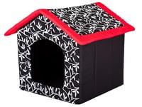 Domeček pro psa Reedog Red Flower