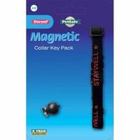 Magnetická klíčenka pro psí a kočičí obojky ze série Staywell 400 a 900.