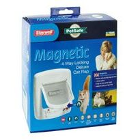 Pet door Staywell 400 with magnet, white