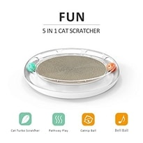 PetKit 3in1 scratcher, toy and bed for cats
