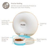 Smart feeder for cats and dogs Pawbo Crunchy