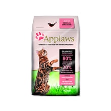APPLAWS Dry Cat Chicken & Salmon 400g