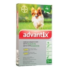 Advantix Spot On 1x0,4ml dla psów do 4kg (1 pipeta)