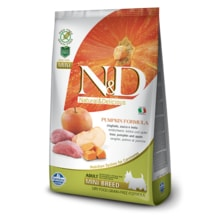 N&D GF Pumpkin DOG Adult Mini Boar & Apple 800g