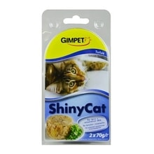 Gimpet Cat Cons. ShinyCat Thunfisch 2x70g