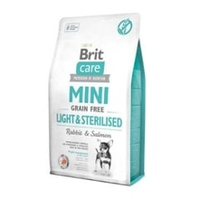 Brit Care Dog Mini Grain Free Light & Sterilised 400g