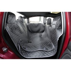 USED - Reedog Car seat cover for dogs - gray(L)