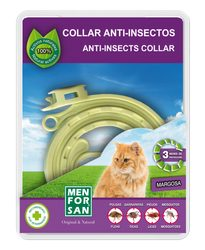 Anti-tick natural collar for dogs and cats