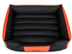 Legowisko dla psa Reedog Comfy Black & Orange