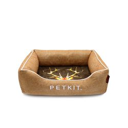 Petkit linen bed in Scandinavian style