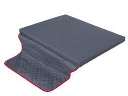Matrace s potahem Cover Grey