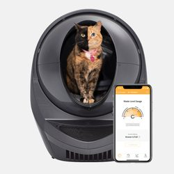 Litter-Robot III Connect automatic self-cleaning toilet for cats