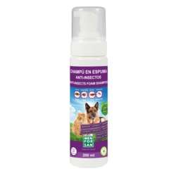 Anti-insect foam shampoo for dogs and cats Menforsan with margosa