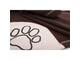 Dog blanket Reedog Brown Paw