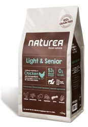 Naturea GF dog Light & Senior - All breeds 100g