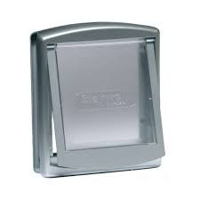 Pet door Staywell 757 silver