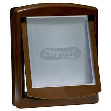 Pet door Staywell 775 original, brown