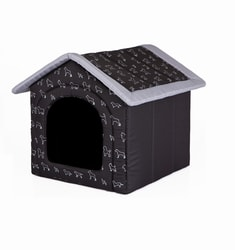 Dog house Reedog Black Dog