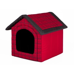 Dog house Reedog Red Strips