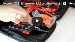 VIDEO: Aetertek AT-218C, LCD displej, dosah 550m, 100% vodotěsnost