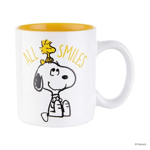 "PEANUTS BÖGRE, SNOOPY ""ALL SMILES"" 330ML"