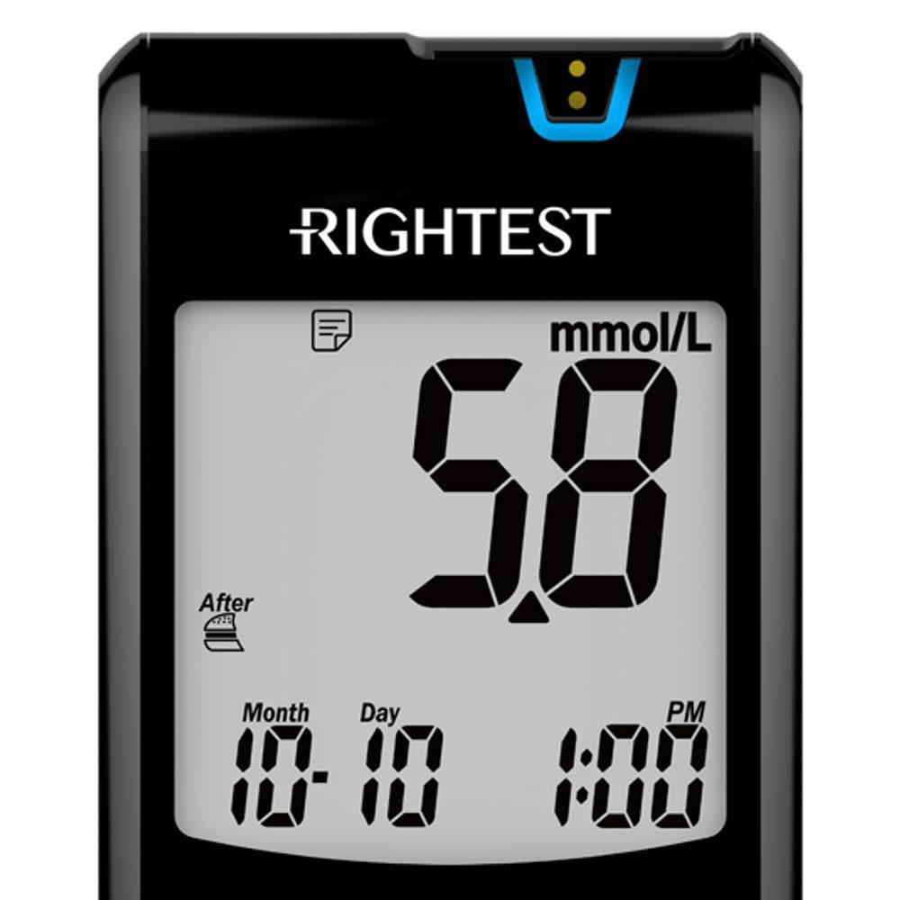 Glukometr Rightest Max Plus s Bluetooth