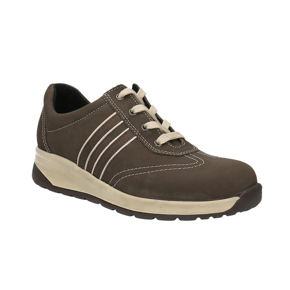 Levně Diabetická obuv Olga dámská hnědá - 41 ( délka nohy 263 mm )