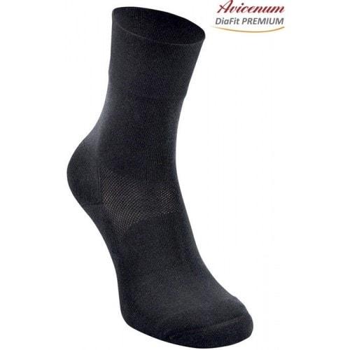 Levně Ponožky Avicenum DiaFit PREMIUM - barva černá velikost 44 - 47