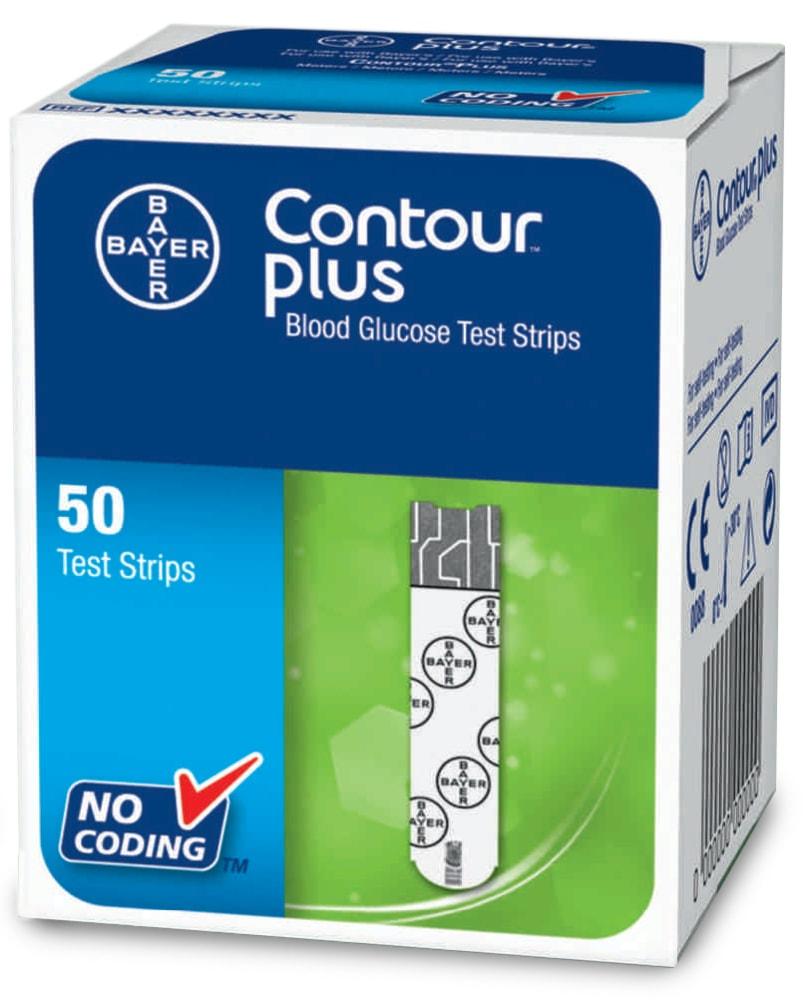 Testovací proužky CONTOUR™Plus 50ks