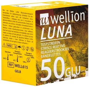 Levně Testovací proužky Wellion LUNA GLU 50 ks