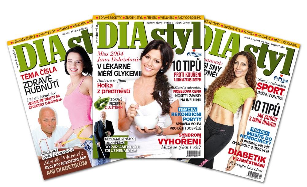 ROČNÍ PŘEDPLATNÉ časopisu DIAstyl